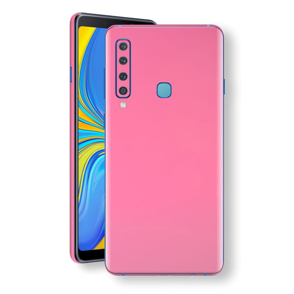 Samsung Galaxy A9 (2018) Hot Pink Glossy Gloss Finish Skin, Decal, Wrap, Protector, Cover by EasySkinz | EasySkinz.com
