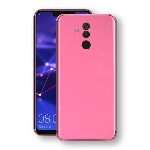 Huawei MATE 20 LITE Hot Pink Glossy Gloss Finish Skin, Decal, Wrap, Protector, Cover by EasySkinz | EasySkinz.com