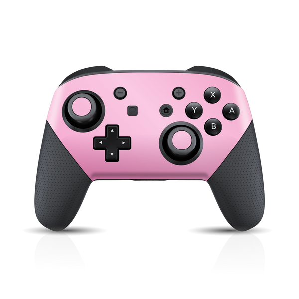 Nintendo Switch Pro CONTROLLER Matt Matte 3M PINK Skin Wrap Sticker Decal Cover Protector by EasySkinz