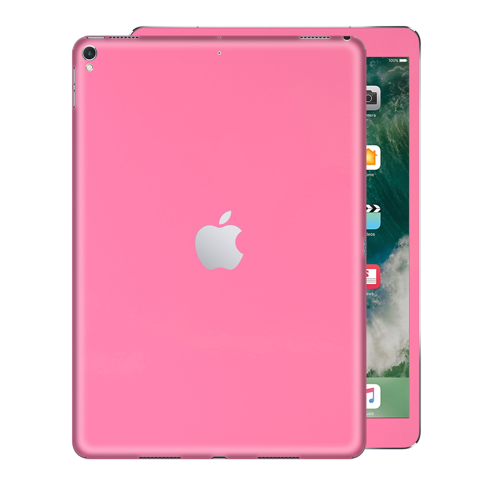 iPad PRO 12.9 inch 2017 Matt Matte 3M PINK Skin Wrap Sticker Decal Cover Protector by EasySkinz