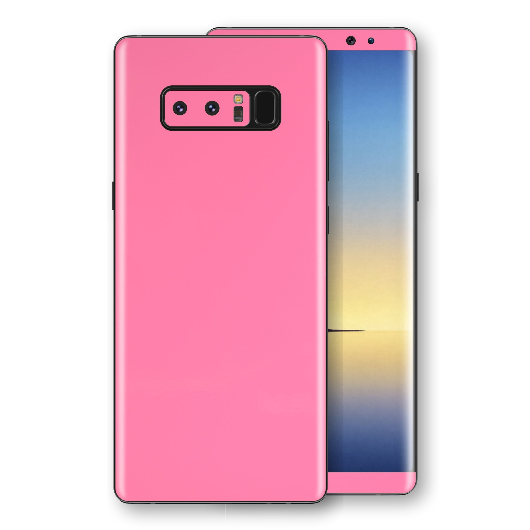 Samsung Galaxy NOTE 8 Hot Pink Glossy Gloss Finish Skin, Decal, Wrap, Protector, Cover by EasySkinz | EasySkinz.com