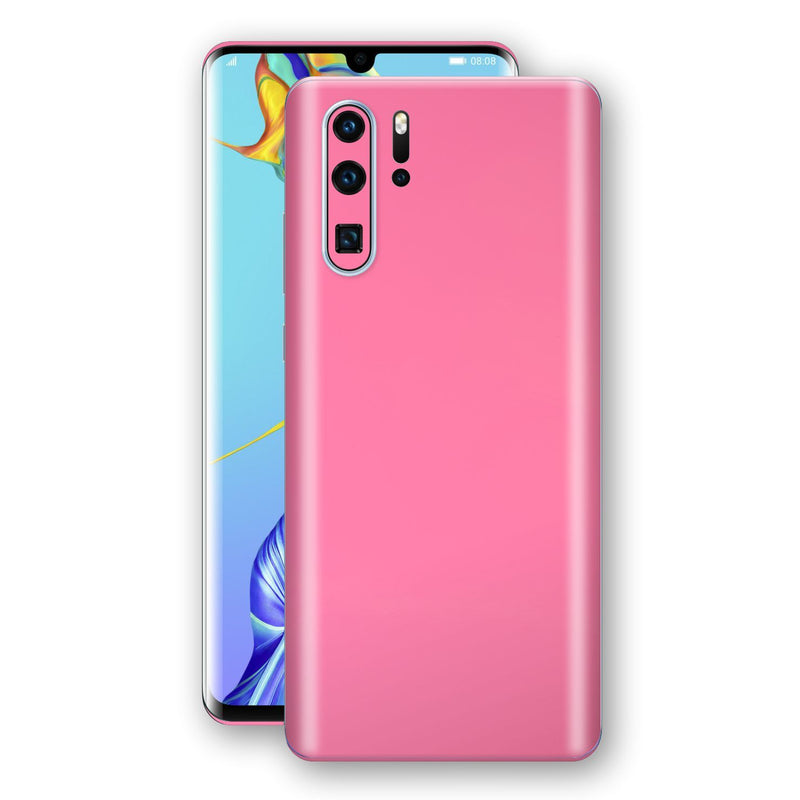 Huawei P30 PRO Hot Pink Glossy Gloss Finish Skin, Decal, Wrap, Protector, Cover by EasySkinz | EasySkinz.com