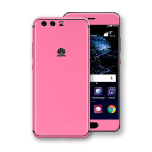 Huawei P10+ PLUS  Hot Pink Glossy Gloss Finish Skin, Decal, Wrap, Protector, Cover by EasySkinz | EasySkinz.com