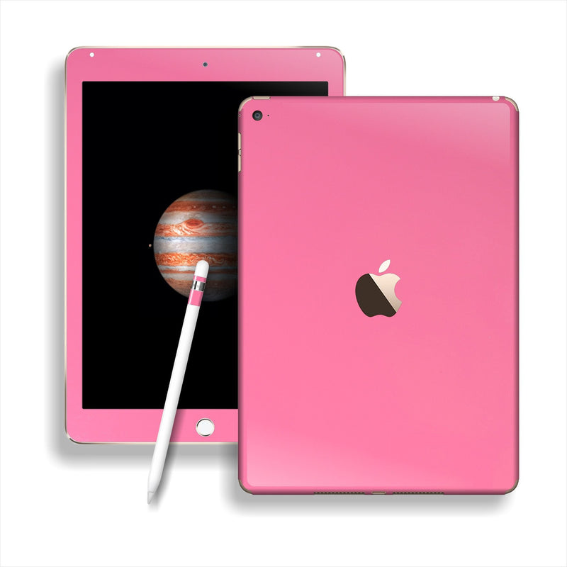 iPad PRO Glossy 3M HOT PINK Skin Wrap Sticker Decal Cover Protector by EasySkinz