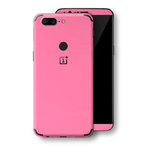 OnePlus 5T Pink Matt Skin, Decal, Wrap, Protector, Cover by EasySkinz | EasySkinz.com