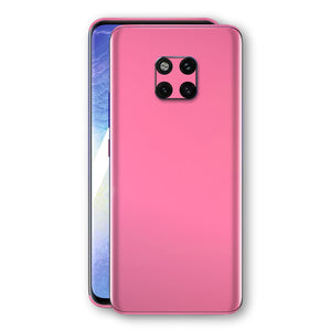 Huawei MATE 20 PRO Hot Pink Glossy Gloss Finish Skin, Decal, Wrap, Protector, Cover by EasySkinz | EasySkinz.com