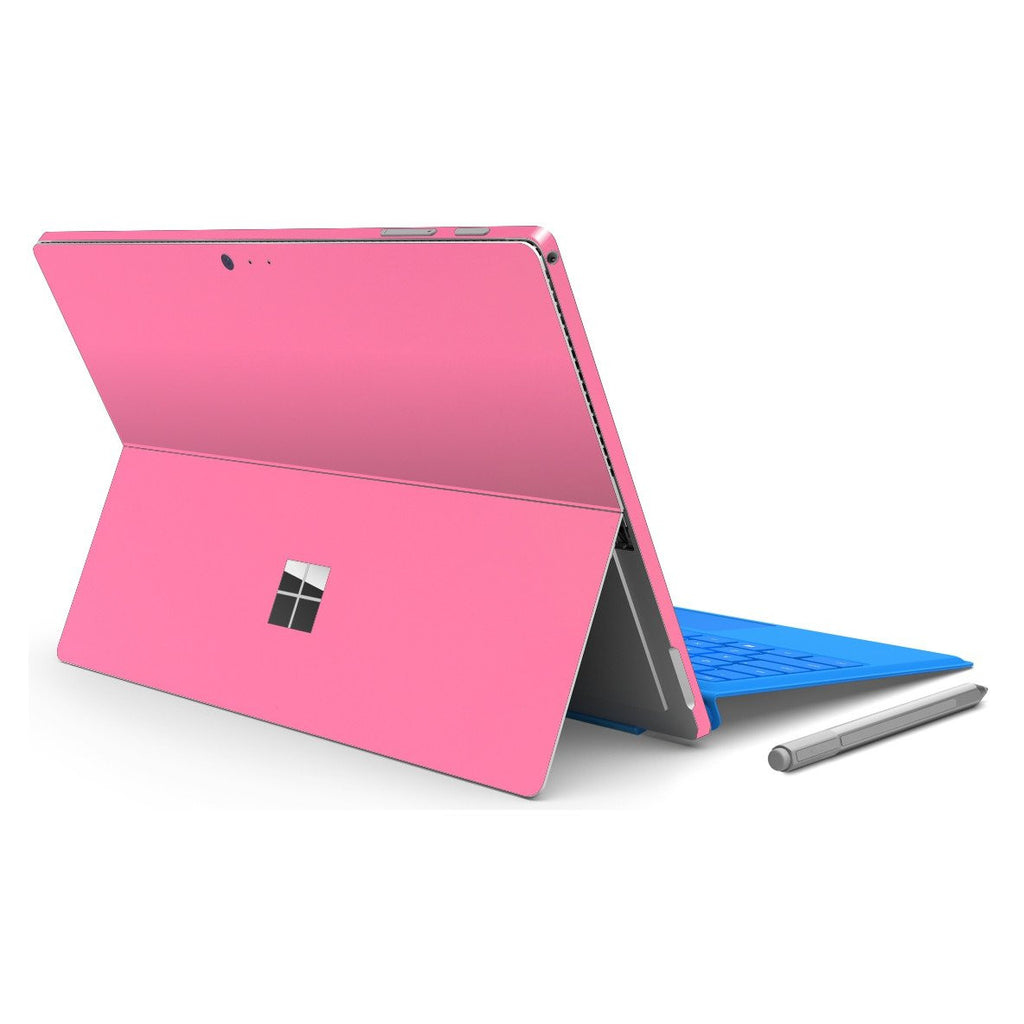 Microsoft Surface PRO 4 PINK 3M MATT Matte Skin Wrap Sticker Decal Cover Protector by EasySkinz