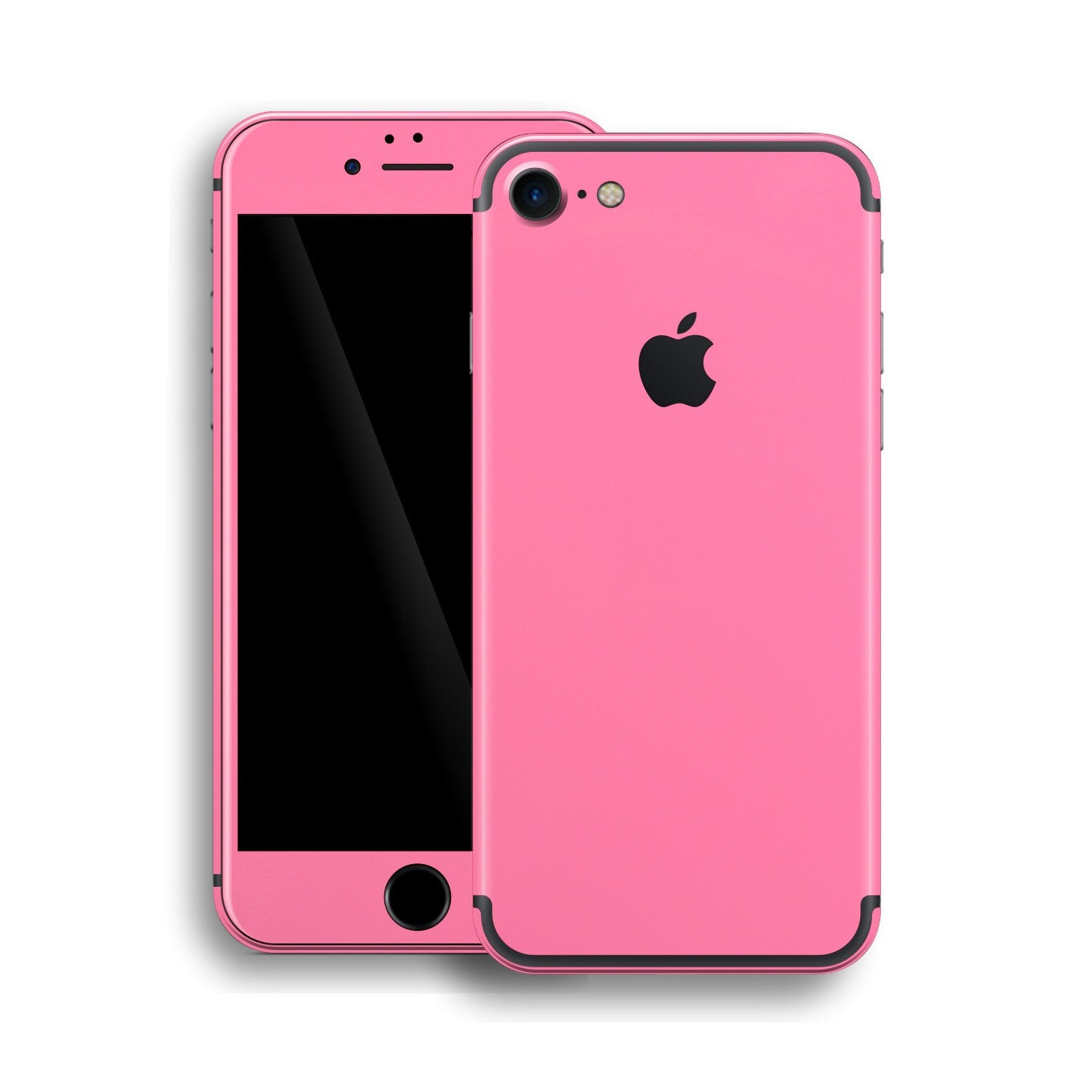 iPhone 7 Glossy Hot Pink Skin, Wrap, Decal, Protector, Cover by EasySkinz | EasySkinz.com