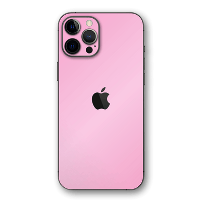 iPhone 12 PRO Pink Matt Matte Skin, Wrap, Decal, Protector, Cover by EasySkinz | EasySkinz.com