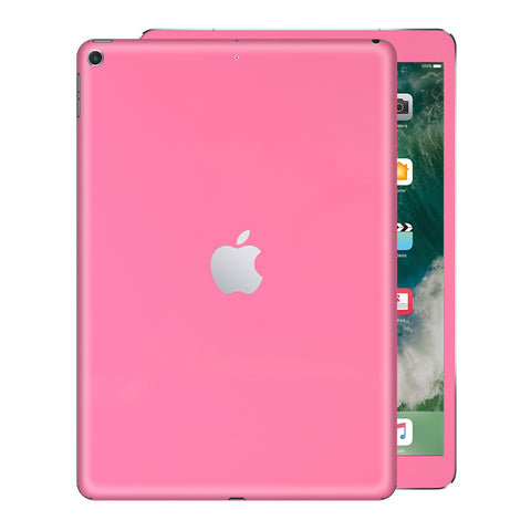 iPad 9.7 inch 2017 Glossy HOT PINK Skin Wrap Sticker Decal Cover Protector by EasySkinz