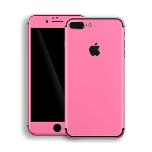 iPhone 7 Plus Hot Pink Glossy Gloss Finish Skin, Decal, Wrap, Protector, Cover by EasySkinz | EasySkinz.com