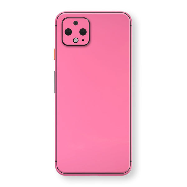 Google Pixel 4 XL Hot Pink Glossy Gloss Finish Skin, Decal, Wrap, Protector, Cover by EasySkinz | EasySkinz.com