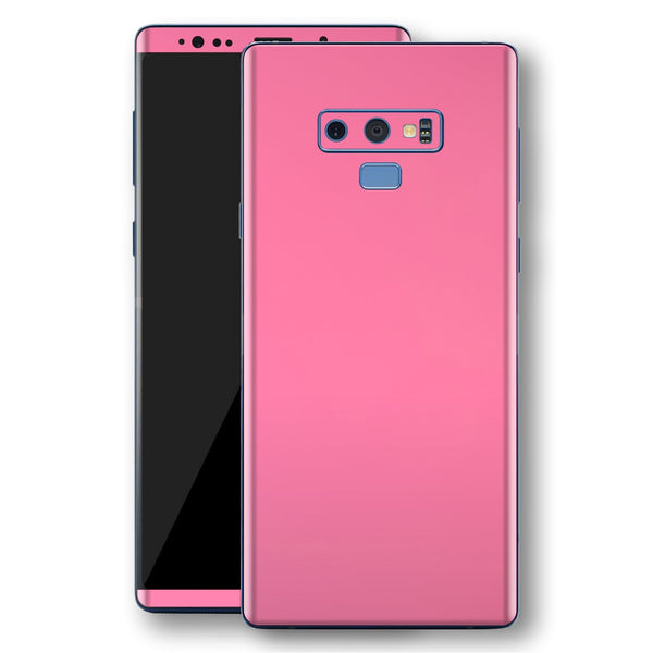Samsung Galaxy NOTE 9 Hot Pink Glossy Gloss Finish Skin, Decal, Wrap, Protector, Cover by EasySkinz | EasySkinz.com