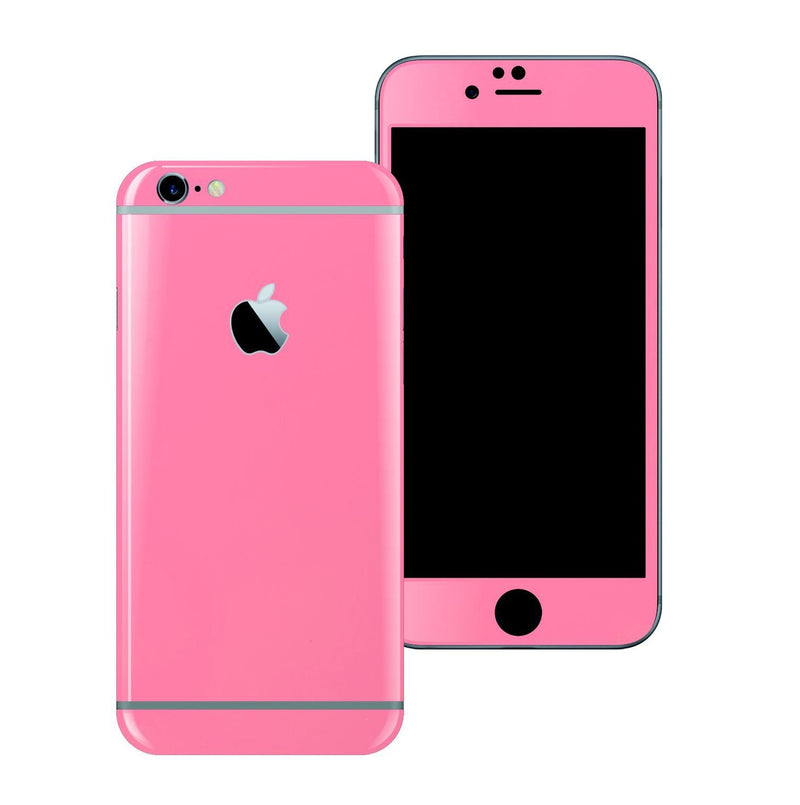 iPhone 6 Plus Colorful 3M Glossy Hot Pink Skin Wrap Sticker Cover Protector Decal by EasySkinz