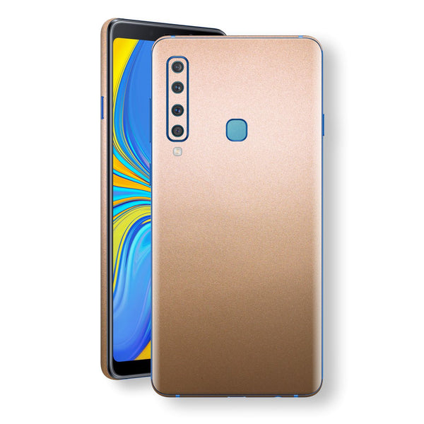 Samsung Galaxy A9 (2018) Luxuria Rose Gold Metallic Skin Wrap Decal Protector | EasySkinz