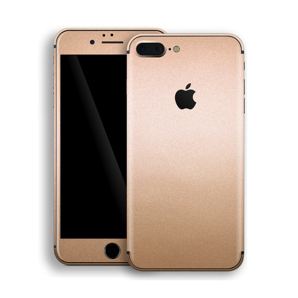 iPhone 8 Plus Luxuria Rose Gold Metallic Skin Wrap Decal Protector | EasySkinz