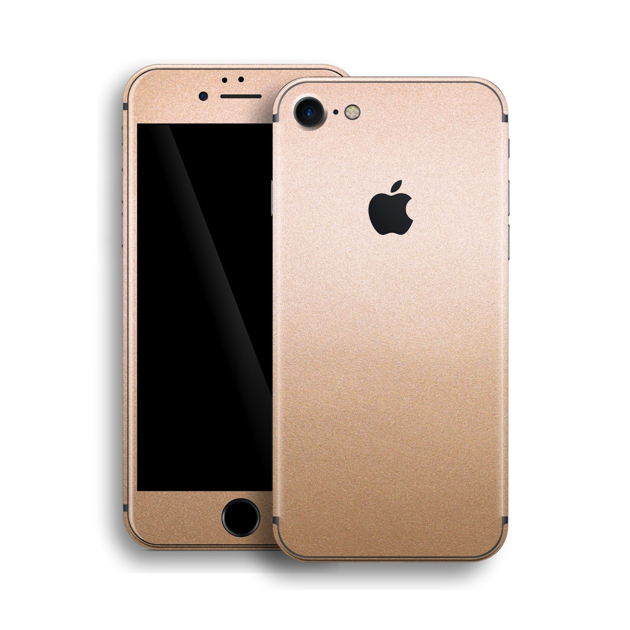 iPhone 8 Luxuria Rose Gold Metallic Skin Wrap Decal Protector | EasySkinz