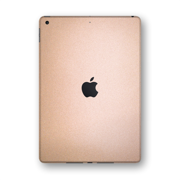 "iPad 10.2"" (7th Gen, 2019) Luxuria Rose Gold Metallic Skin Wrap Sticker Decal Cover Protector by EasySkinz"