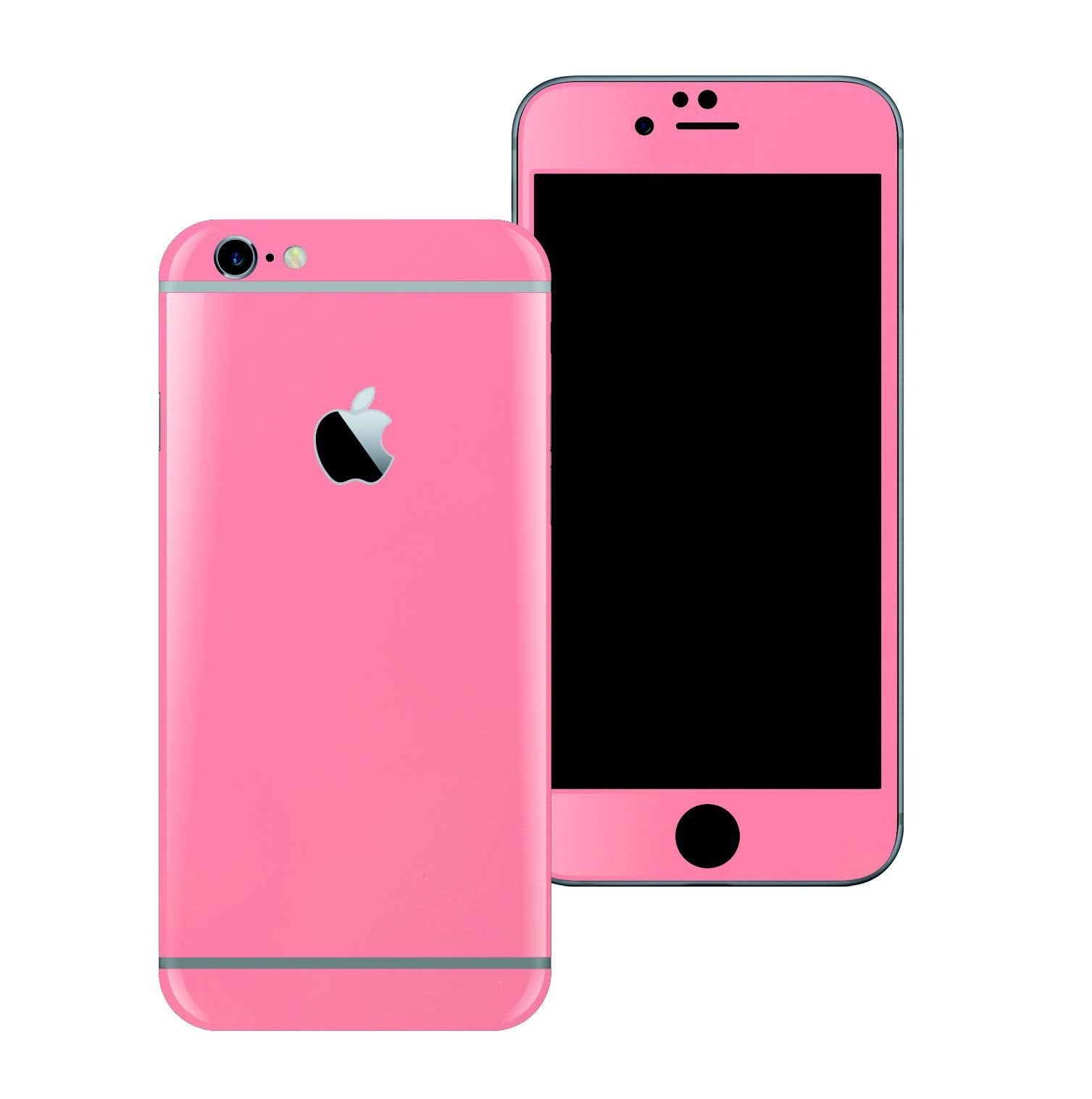 iPhone 6 Plus Colorful 3M PINK MATT Skin Wrap Sticker Cover Protector Decal by EasySkinz