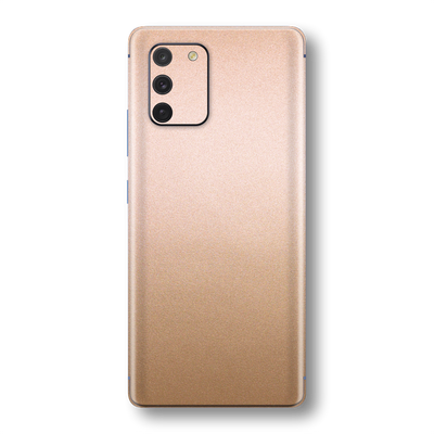 Samsung Galaxy S10 LITE Luxuria Rose Gold Metallic Skin Wrap Sticker Decal Cover Protector by EasySkinz