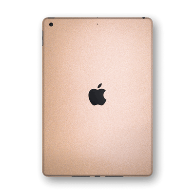 "iPad 10.2"" (8th Gen, 2020) Luxuria Rose Gold Metallic Skin Wrap Sticker Decal Cover Protector by EasySkinz"