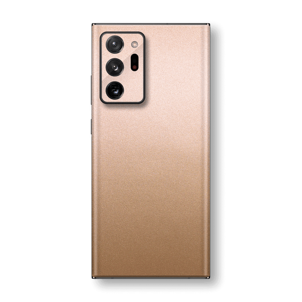 Samsung Galaxy NOTE 20 ULTRA Luxuria Rose Gold Metallic Skin Wrap Sticker Decal Cover Protector by EasySkinz