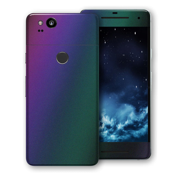 Google Pixel 2 Chameleon CHAMELEON DARK OPAL Colour-Changing Skin, Decal, Wrap, Protector, Cover by EasySkinz | EasySkinz.com