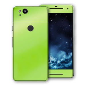 Google Pixel 2 Apple Green Pearl Gloss Finish Skin, Decal, Wrap, Protector, Cover by EasySkinz | EasySkinz.com