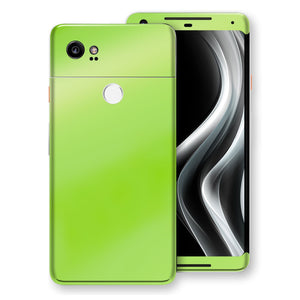 Google Pixel 2 XL Apple Green Pearl Gloss Finish Skin, Decal, Wrap, Protector, Cover by EasySkinz | EasySkinz.com