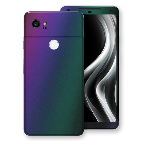 Google Pixel 2 XL Chameleon DARK OPAL Colour-Changing Skin, Decal, Wrap, Protector, Cover by EasySkinz | EasySkinz.com