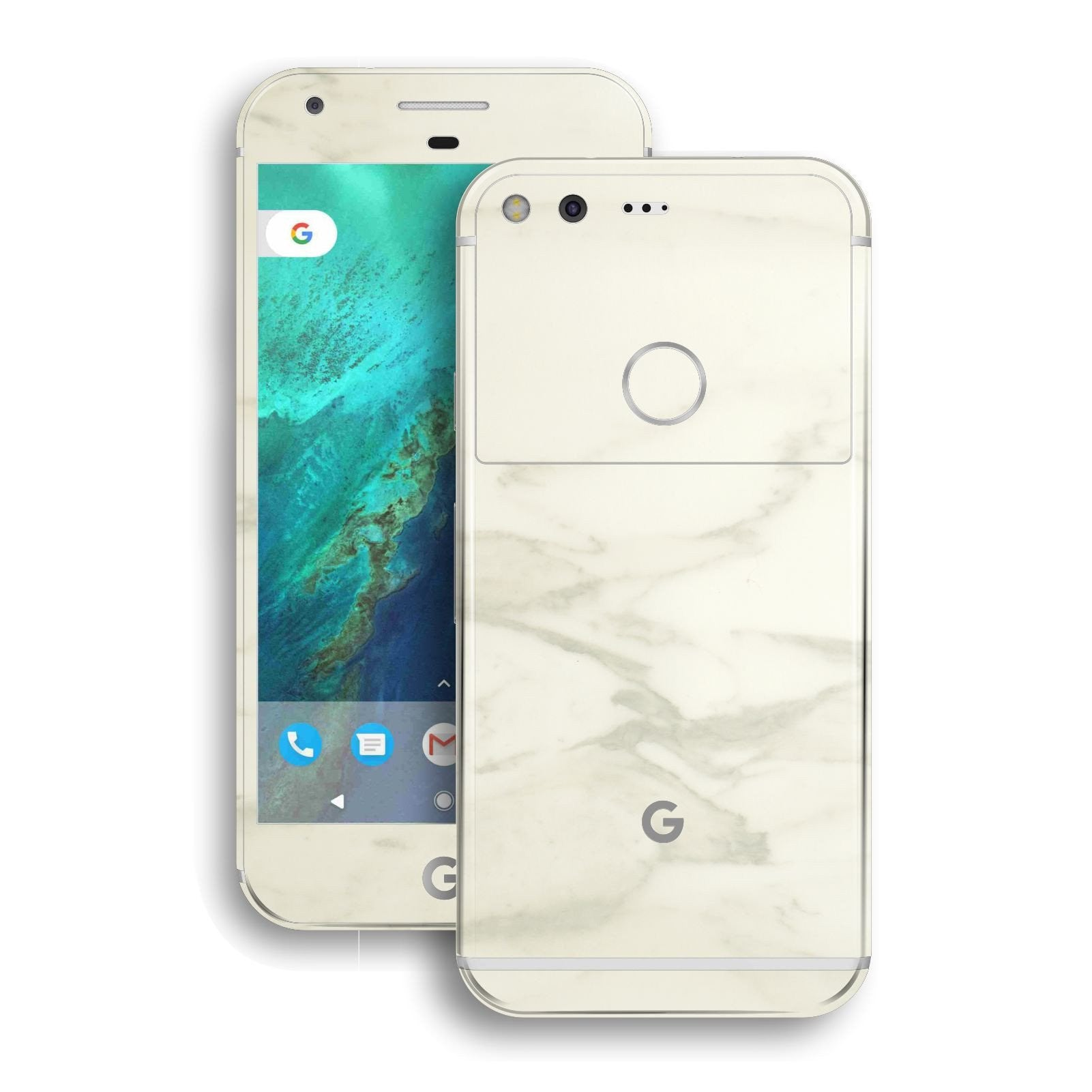 Google Pixel XL LUXURIA White MARBLE Skin by EasySkinz