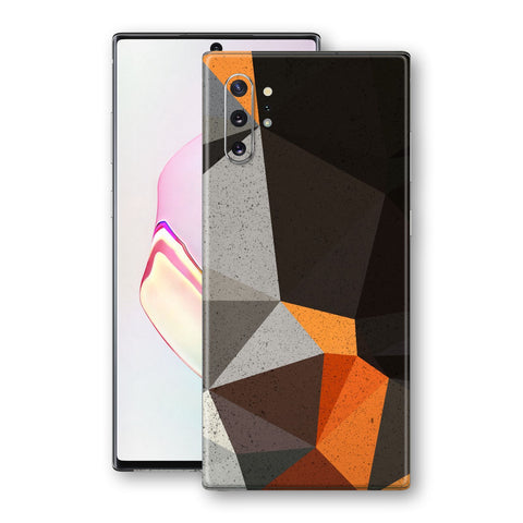 Samsung Galaxy NOTE 10+ PLUS Print Custom Pixelated ROCKS Skin Wrap Decal by EasySkinz