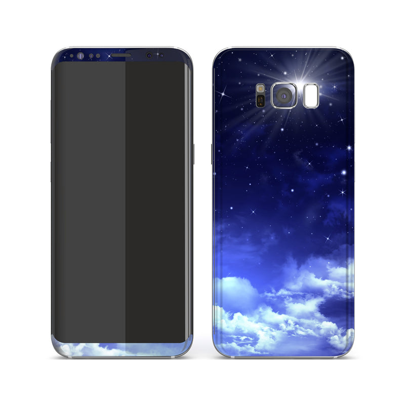 Samsung Galaxy S8+ Print Custom Signature Pole Star Skin Wrap Decal by EasySkinz