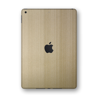 "iPad 10.2"" (8th Gen, 2020) Premium Brushed Champagne Gold Skin Wrap Sticker Decal Cover Protector by EasySkinz"