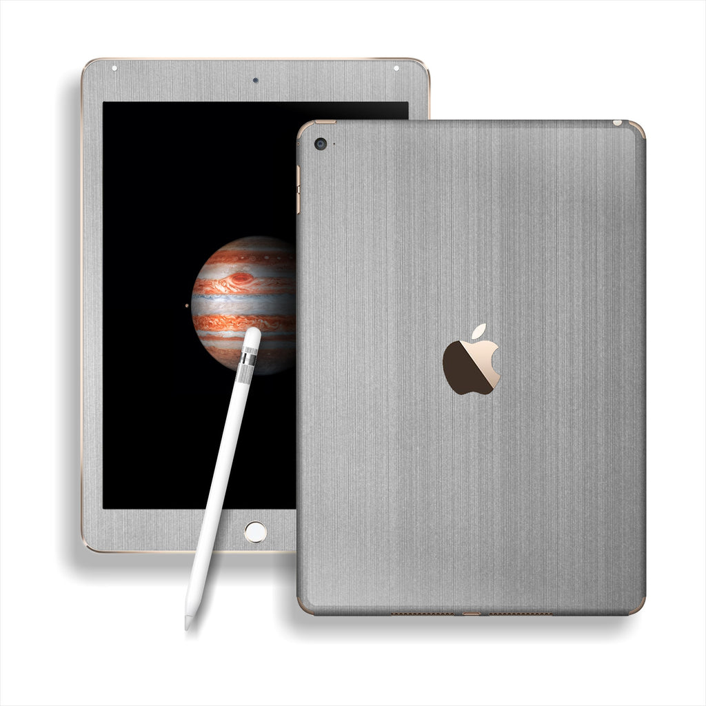 iPad PRO Premium Brushed Steel Skin Wrap Sticker Decal Cover Protector by EasySkinz