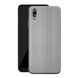Huawei P20 Premium Brushed STEEL Metallic Metal Skin, Decal, Wrap, Protector, Cover by EasySkinz | EasySkinz.com