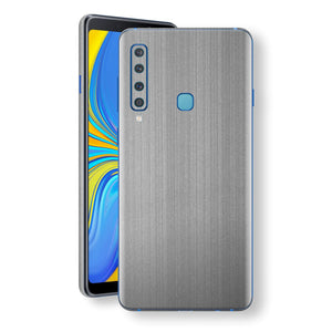 Samsung Galaxy A9 (2018) Premium Brushed STEEL Metallic Metal Skin, Decal, Wrap, Protector, Cover by EasySkinz | EasySkinz.com