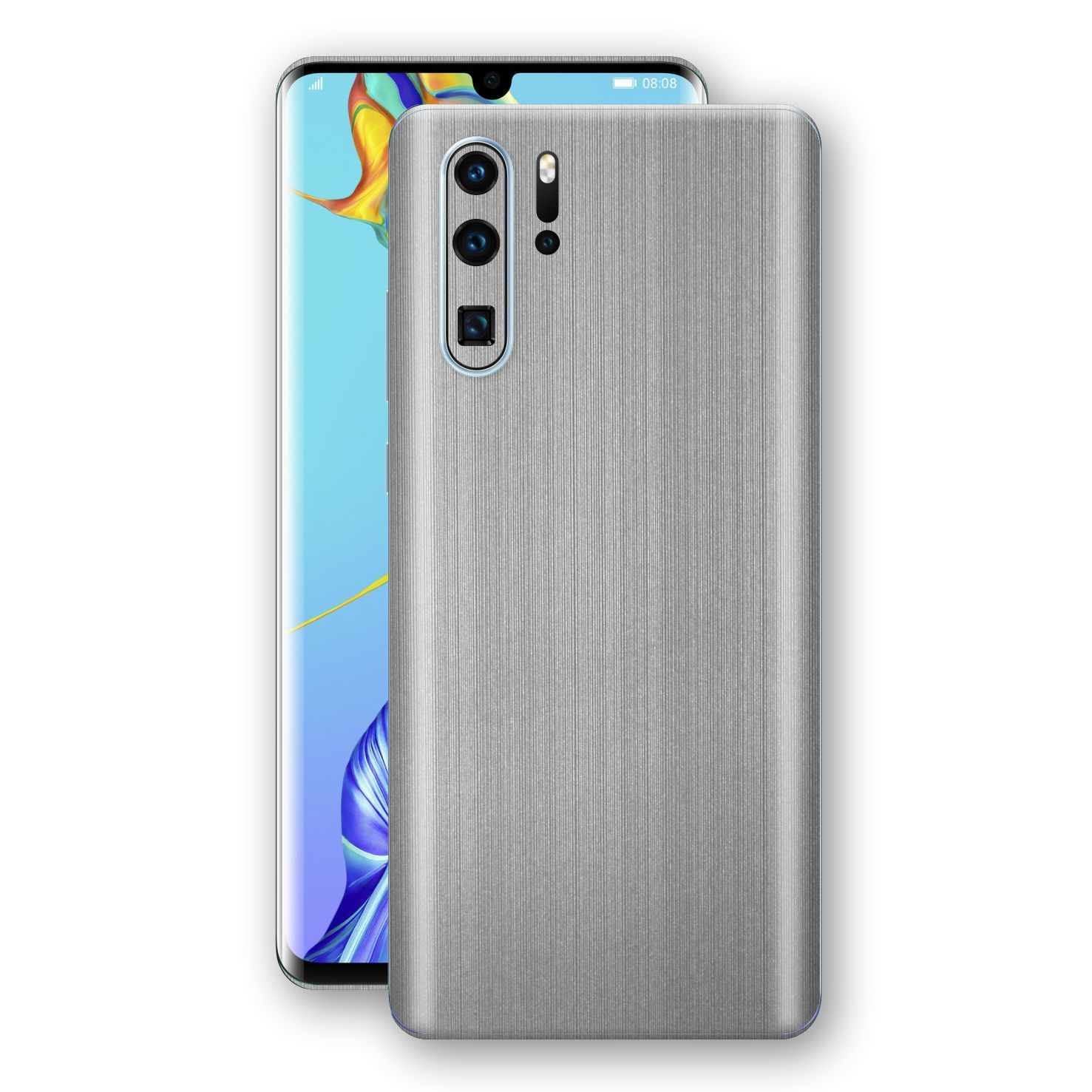Huawei P30 PRO Premium Brushed STEEL Metallic Metal Skin, Decal, Wrap, Protector, Cover by EasySkinz | EasySkinz.com
