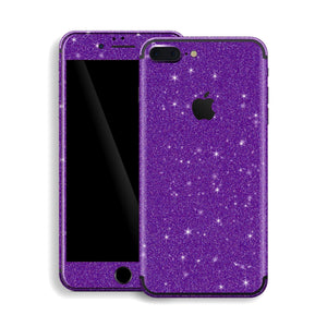 iPhone 7 Plus Diamond Purple Shimmering, Sparkling, Glitter Skin, Decal, Wrap, Protector, Cover by EasySkinz | EasySkinz.com