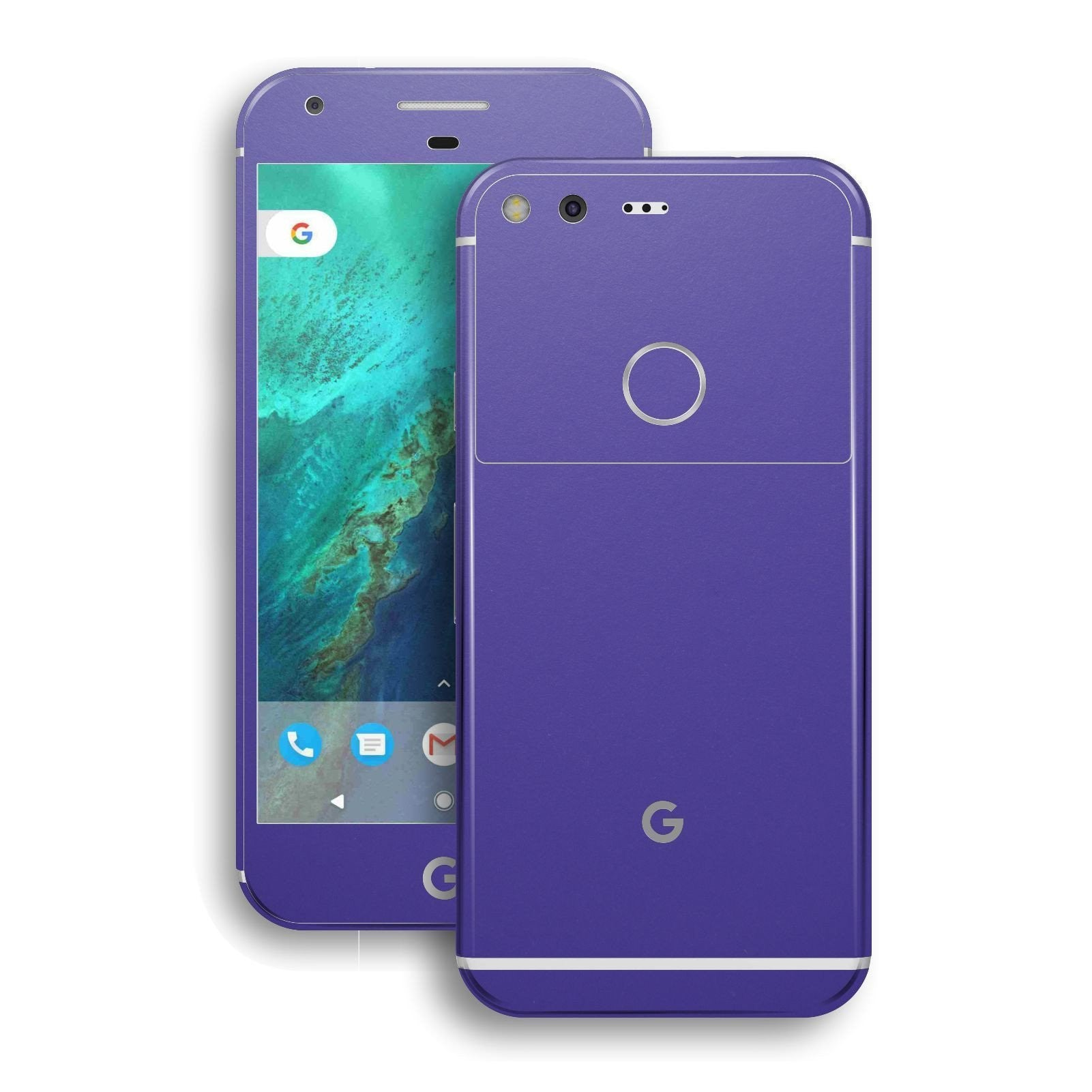 Google Pixel Royal Purple Matt Skin by EasySkinz