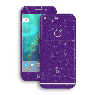 Google Pixel XL Diamond Purple Skin Wrap Decal by EasySkinz