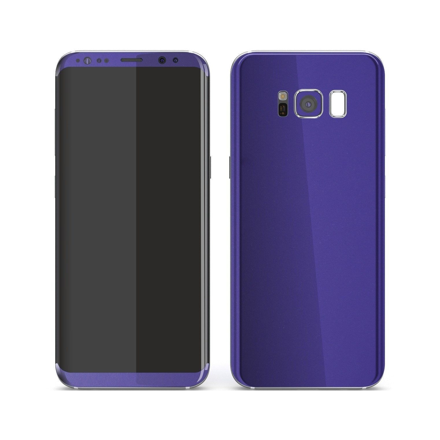 Samsung Galaxy S8+ Royal Purple Matt Skin, Decal, Wrap, Protector, Cover by EasySkinz | EasySkinz.com