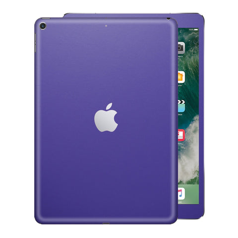 iPad 9.7 inch 2017 Matt Matte 3M Royal Purple Skin Wrap Sticker Decal Cover Protector by EasySkinz
