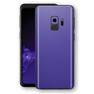 Samsung GALAXY S9 Royal Purple MATT Skin, Decal, Wrap, Protector, Cover by EasySkinz | EasySkinz.com