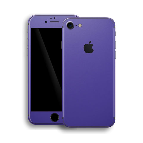 iPhone 8 Royal Purple Matt Matte Skin, Wrap, Decal, Protector, Cover by EasySkinz | EasySkinz.com