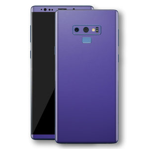 Samsung Galaxy NOTE 9 Royal Purple Matt Skin, Decal, Wrap, Protector, Cover by EasySkinz | EasySkinz.com