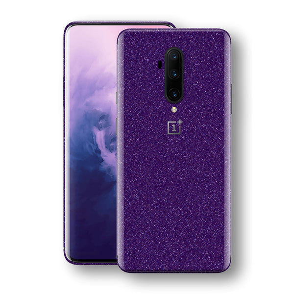 OnePlus 7T PRO Diamond Purple Shimmering, Sparkling, Glitter Skin, Decal, Wrap, Protector, Cover by EasySkinz | EasySkinz.com