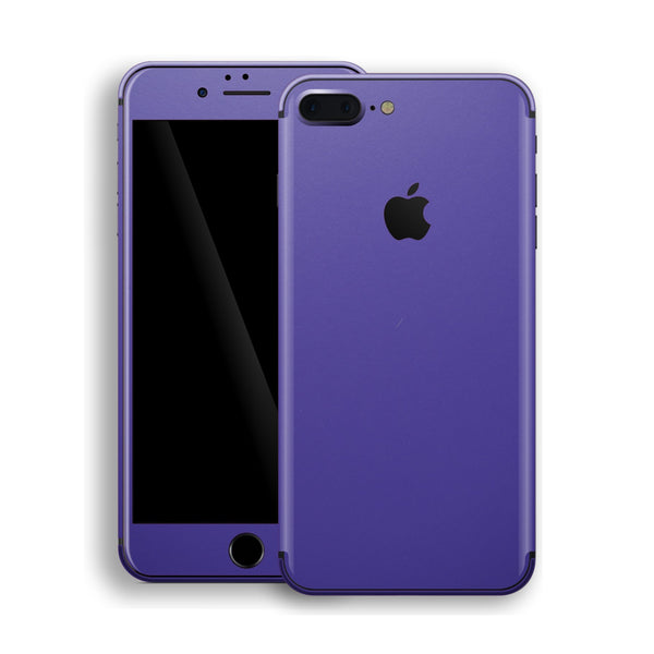 iPhone 8 Plus Royal Purple Matt Skin, Decal, Wrap, Protector, Cover by EasySkinz | EasySkinz.com