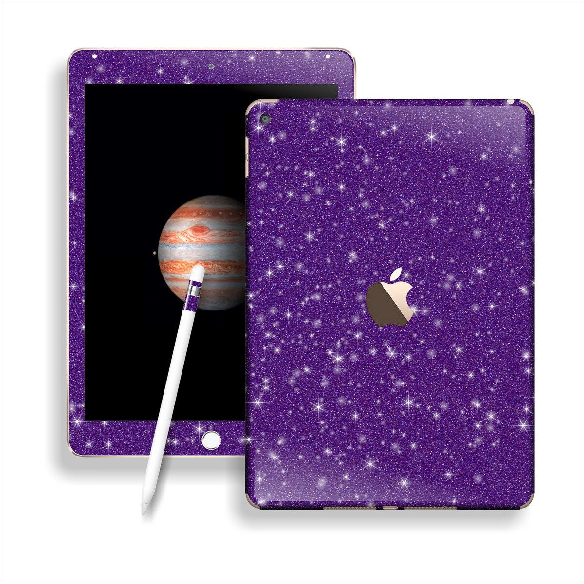 iPad PRO Diamond PURPLE Glitter Shimmering Skin Wrap Sticker Decal Cover Protector by EasySkinz