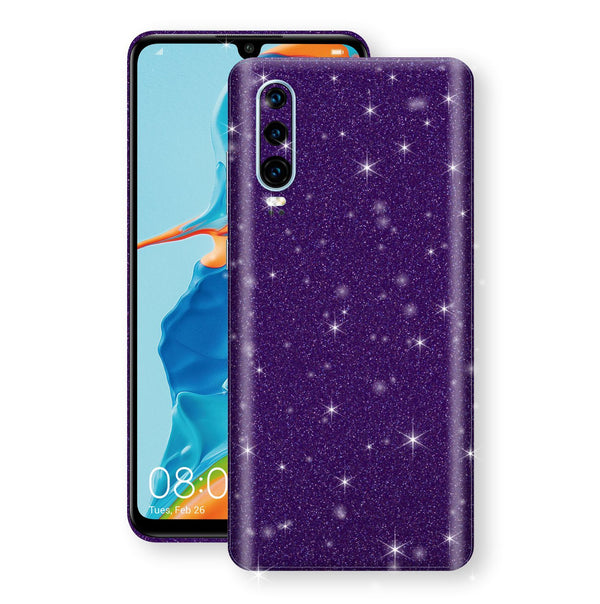 Huawei P30 Diamond Purple Shimmering, Sparkling, Glitter Skin, Decal, Wrap, Protector, Cover by EasySkinz | EasySkinz.com